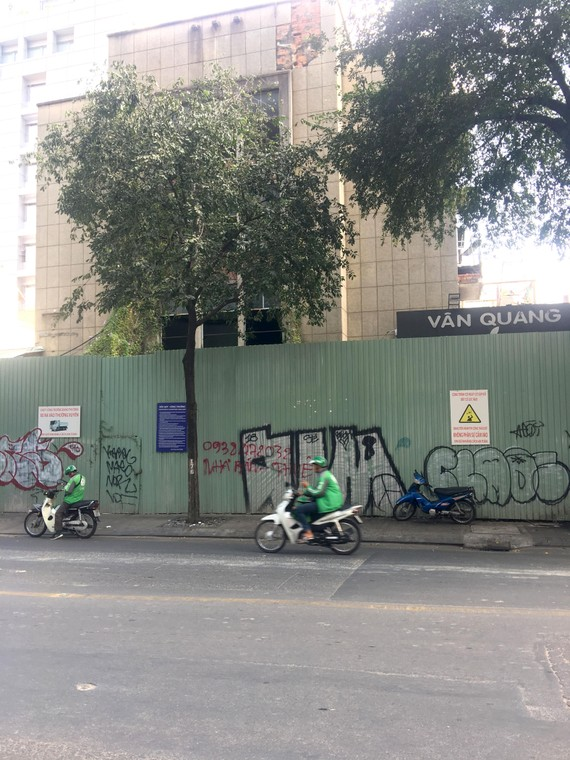 Công trình xây dựng lại chung cư Cửu Long vẫn im lìm sau gần 2 năm di dời cư dân