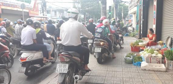 Thói quen xấu khi tham gia giao thông