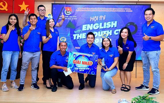Đoàn Sawaco đoạt giải nhất hội thi tiếng Anh