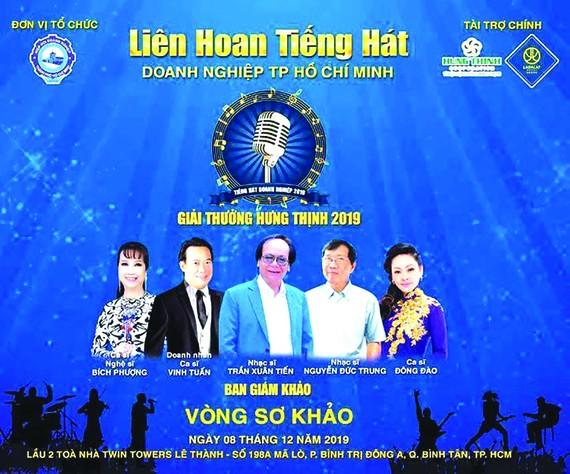 Liên hoan Tiếng hát Doanh nghiệp TPHCM năm 2019