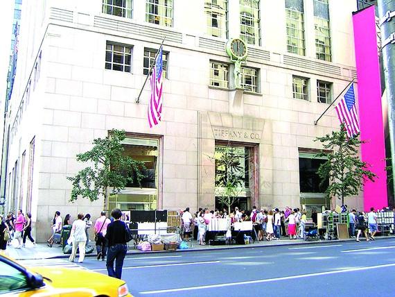 Cửa hàng của Tiffany ở New York, Mỹ