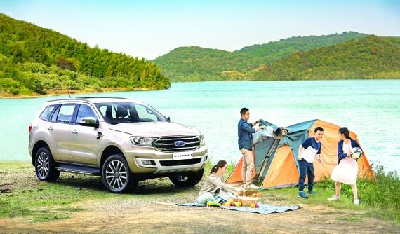 Chinh phục thiên nhiên với Ford Everest - phương tiện tối ưu cho những buổi cắm trại