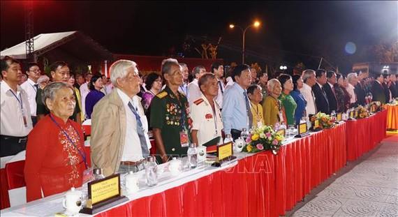 Các đại biểu dự lễ kỷ niệm. Ảnh: TTXVN