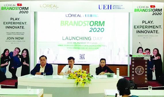 Cuộc thi khởi nghiệp sáng tạo toàn cầu L'Oréal Brandstorm 2020