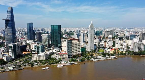 Thành phố mang tên Bác Hồ kính yêu phát triển từng ngày. Ảnh: VIỆT DŨNG