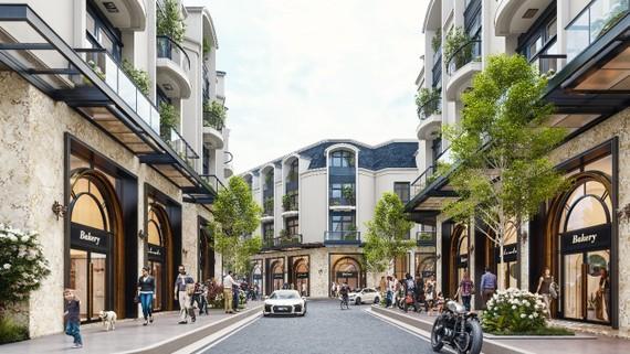 Nhà phố 2 mặt tiền giúp gia chủ tận dụng tối đa diện tích căn nhà, cũng như tiết kiệm chi phí so với việc thuê mặt bằng bên ngoài