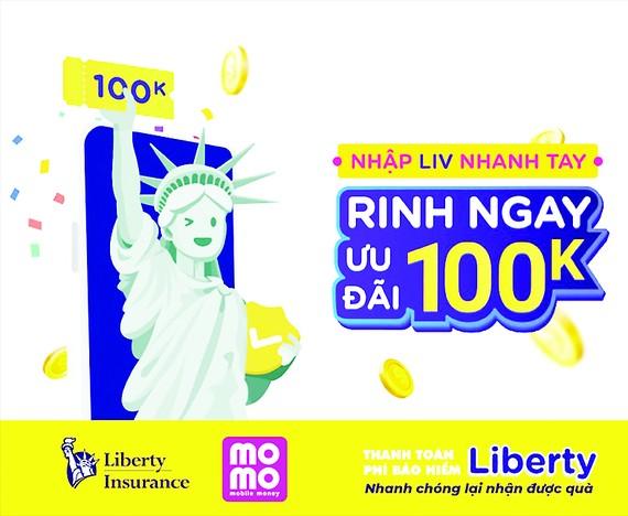Bảo hiểm Liberty và Ví MoMo nâng tầm trải nghiệm số