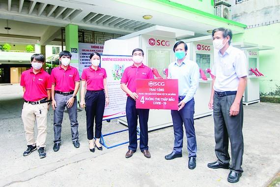 Công ty vật liệu xây dựng xi măng SCG Việt Nam tặng Đà Nẵng 4 phòng áp lực dương kháng khuẩn