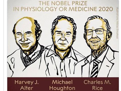 Các nhà khoa học giành giải Nobel Y học 2020