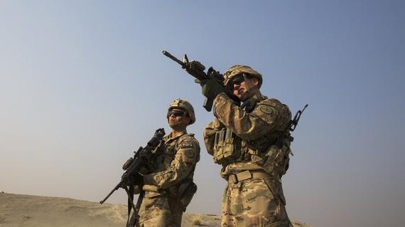 Binh sĩ Mỹ đồn trú tại Afghanistan. Ảnh: Getty Images