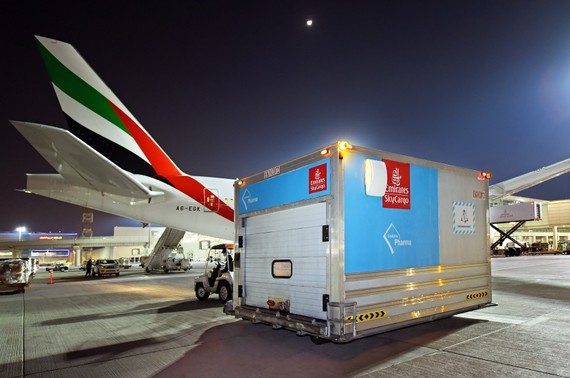 Emirates SkyCargo vận chuyển 50 triệu liều vaccine Covid-19