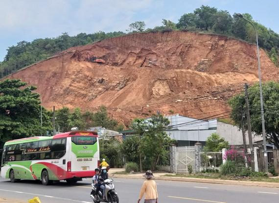 Đồng Nai: Nhiều sai sót ở dự án chống sạt lở ven quốc lộ 20