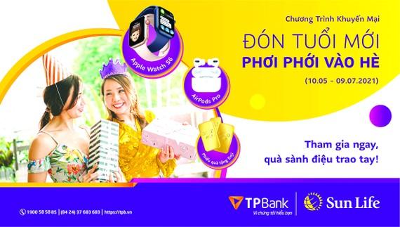 """Sun Life Việt Nam triển khai chương trình khuyến mại """"Đón tuổi mới, phơi phới vào hè"""""""