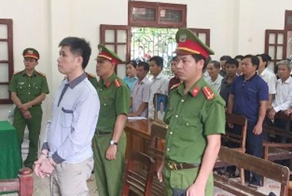 Bị cáo Phạm Văn Thông tại phiên tòa