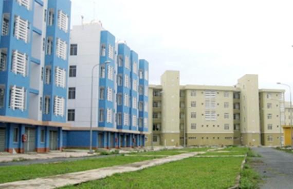 Khu tái định cư Vĩnh Lộc B, huyện Bình Chánh, TPHCM