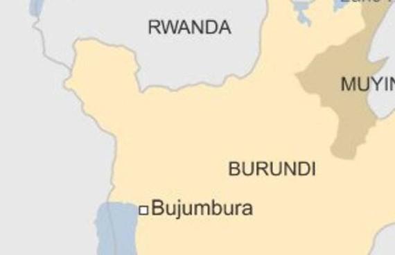 Các vụ tấn công tối 17-8-2017 nhằm vào 2 bar ở thủ đô Bujumbura của Burundi