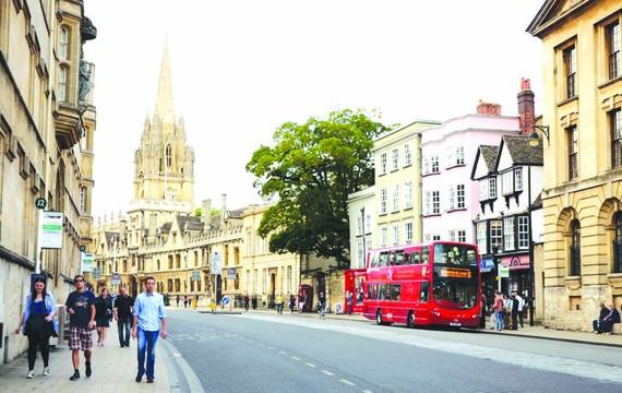 Oxford hạn chế phương tiện chạy nhiên liệu hóa thạch