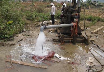 Khai thác nước ngầm gây hệ lụy lớn