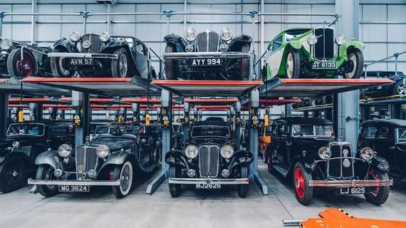 Kho tàng xe cổ bí mật của Jaguar Land Rover