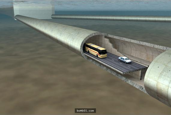 Na Uy: đường hầm vượt biển tỷ USD