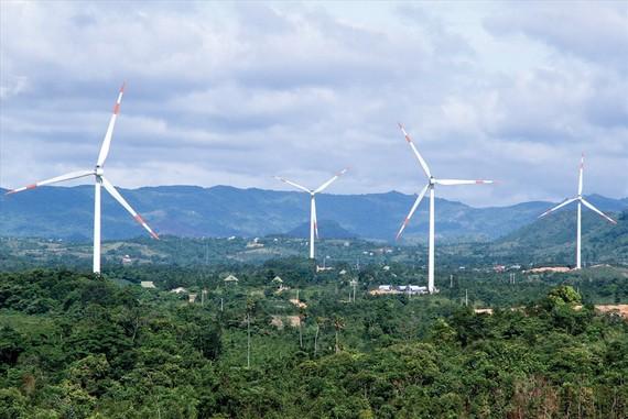 Điện gió Quảng Trị.