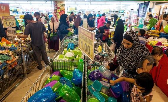 ASEAN là một thị trường lớn mà các doanh nghiệp Việt cần tập trung khai thác một cách hiệu quả (trong ảnh là một siêu thị ở Malaysia). Ảnh minh họa