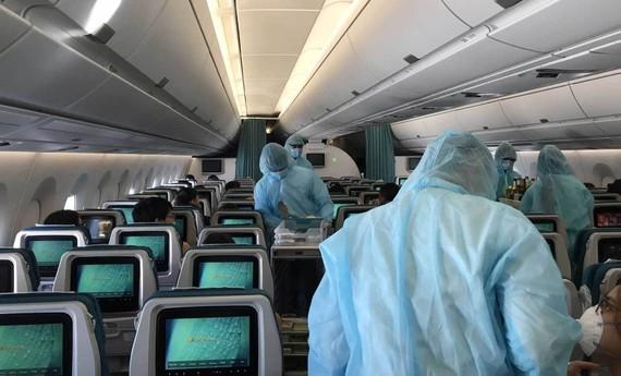 Mỗi chuyến bay đến Tân Sơn Nhất được chở tối đa 180 hành khách
