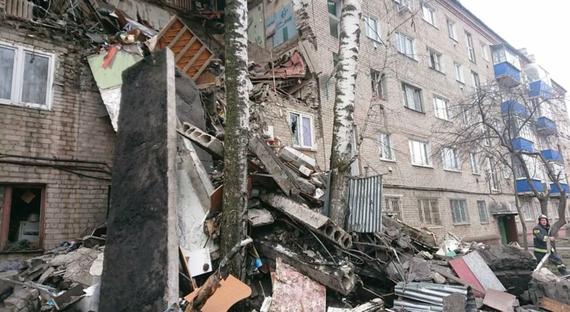 Nổ khí gas tại chung cư ở Nga