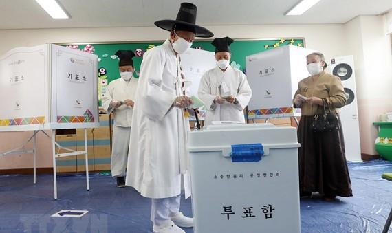 Hàn Quốc bầu cử quốc hội