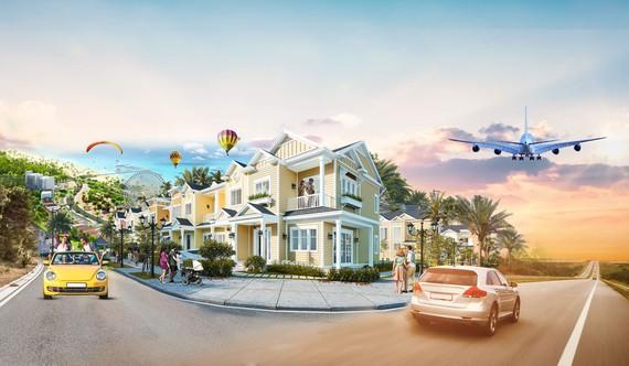 """Second home ven biển tại Phan Thiết, Bình Thuận được dự báo tạo """"làn sóng"""" đầu tư mới trên thị trường BĐS (Ảnh: mẫu second home tại NovaWorld Phan Thiet)."""