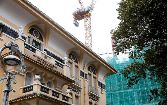 Cảnh báo an toàn  xây dựng ở nội thành