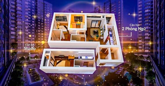 Thiết kế sáng tạo của Dual Key giúp cho chủ nhân chỉ cần mua 1 nhưng sở hữu được 2 căn hộ độc lập đầy đủ công năng.