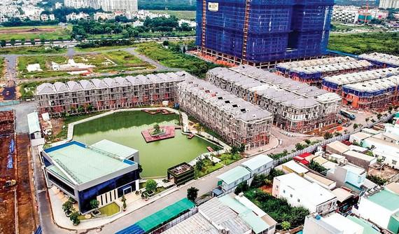 """Dự án 110 căn biệt thự của CTCP Đầu tư BĐS Hưng Lộc Phát có đất công xen cài sẽ được """"cởi trói"""" theo Nghị định 148."""