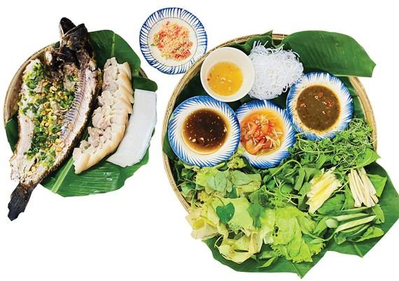Khúc biến tấu cá lóc nướng trui