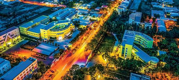 TP Trà Vinh không ngừng thay đổi, khang trang, hiện đại.