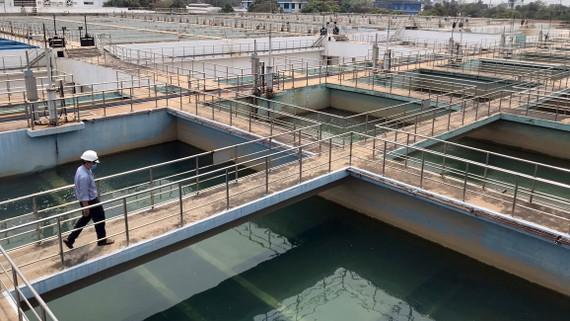 Nhà máy nước Tân Hiệp, huyện Hóc Môn, TPHCM Ảnh: Phan Lê