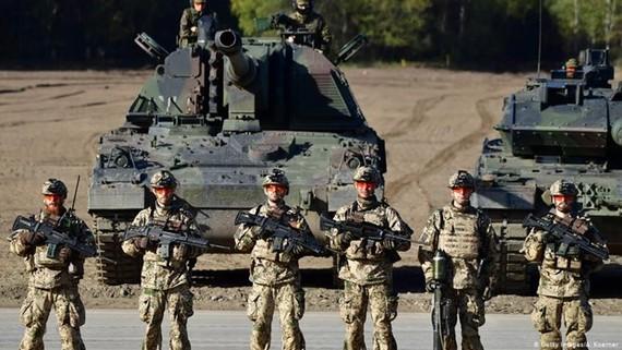 Lực lượng binh sỹ Đức. (Nguồn: dw.com)