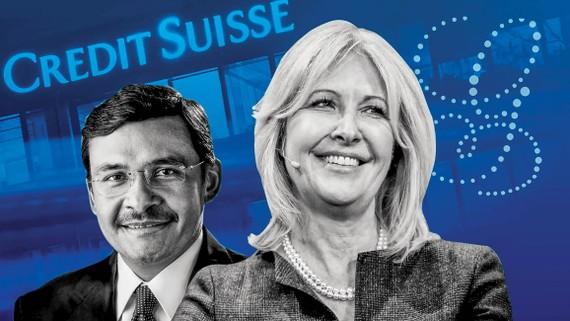 Helman Sitohang, người đứng đầu Credit Suisse châu Á, và Lara Warner, cựu Giám đốc rủi ro và tuân thủ của ngân hàng.