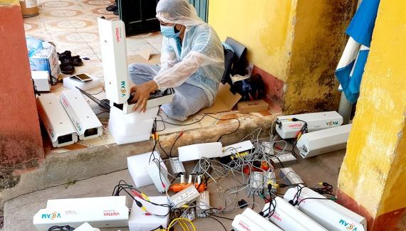 Viettel lắp đặt, kết nối tích hợp 3.000 camera giám sát tại khu vực cách ly ở các tỉnh phía Bắc