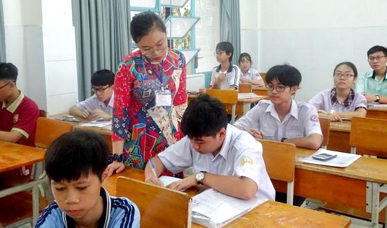Thí sinh tham gia kỳ thi tuyển sinh lớp 10 năm học 2020-2021