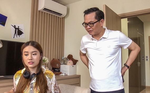 """NSND Trung Hiếu trong bộ phim """"Ngày mai bình yên""""."""