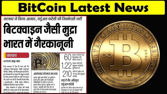 Báo chí Ấn Độ cảnh báo đồng Bitcoin. Ảnh: India Times