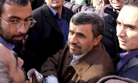 Cựu Tổng thống Iran Mahmoud Ahmadinejad. Ảnh: Al-Quds Al-Arabi