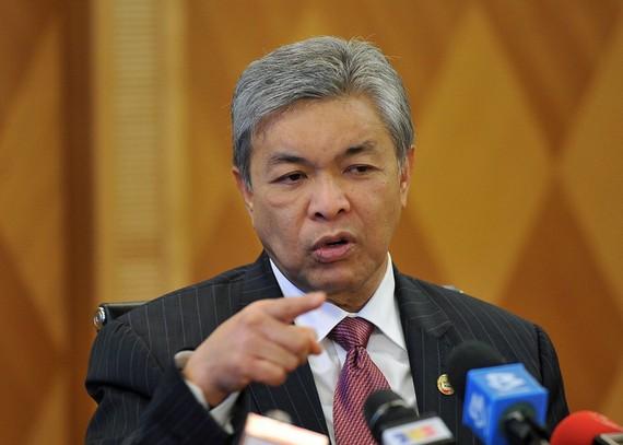 Phó Thủ tướng kiêm Bộ trưởng Nội vụ Malaysia Ahmad Zahid Hamidi. Ảnh: Malay Mail Online