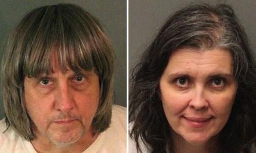 David Allen Turpin và Louise Anna Turpin đã bị bắt với cáo buộc tra tấn và gây nguy hiểm cho trẻ em. Ảnh: REUTERS