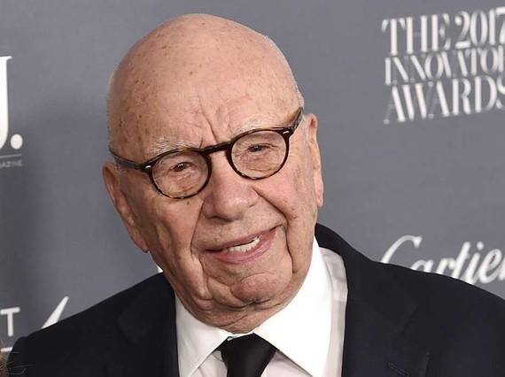 Ông trùm truyền thông Rupert Murdoch của News Corp. Ảnh: The Register Citizen