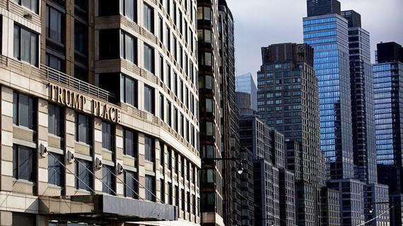 Khu chung cư tại địa chỉ số 200 Đại lộ Riverside. Ảnh: New York Times