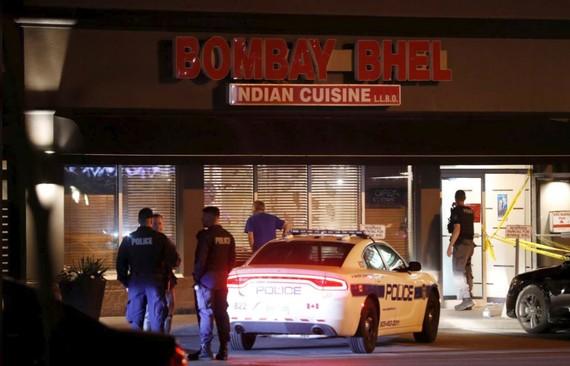 Nhà hàng nơi xảy ra vụ nổ bom. Ảnh: R