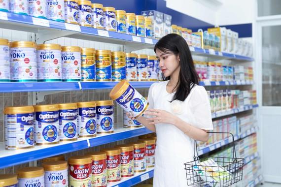 Vinamilk hiện có hơn 250 chủng loại sản phẩm, được sản xuất bởi các nhà máy của công ty trên cả nước