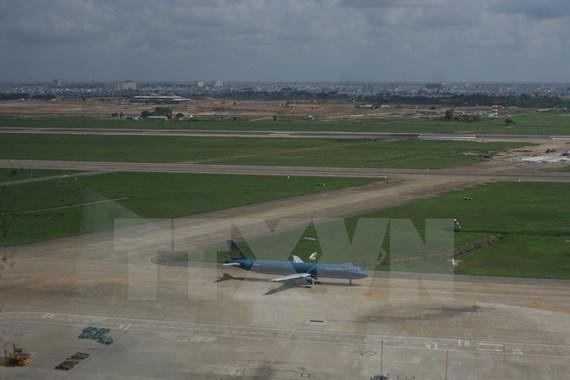 Một góc Cảng Hàng không Quốc tế Tân Sơn Nhất, Thành phố Hồ Chí Minh.